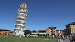 Leaning Tower, Pisa Stock Footage