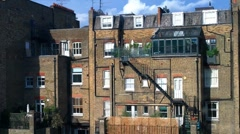Old English Building London 01 Stock Footage