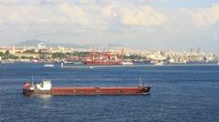Suuri tankkeri laiva Arkistovideo
