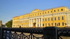 Yusupov Palace, St. Petersburg, Russia (timelapse) Stock Footage