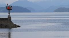 Tour boat  Wrangell ,Alaska Stock Footage
