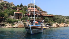 Stock Video Footage of Voyage. Turkey, Kekova-Simena Region (Apollonia), Western Taurus