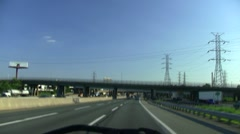 New Jersey Turnpike - stock footage