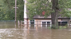 Post Hurricane Flooding (3 of 5) - stock footage