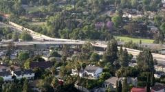 Suburban Traffic Stock Footage