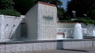 Lausanne Olympic Museum Switzerland 01 Stock Footage