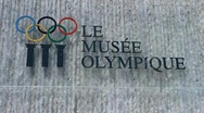 Lausanne Olympic Museum Switzerland 03 Stock Footage
