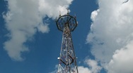 Stock Video Footage of Communication tower