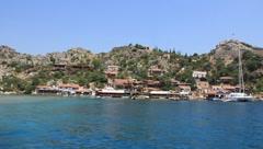 Stock Video Footage of Voyage. Turkey, Kekova-Simena Region, Western Taurus