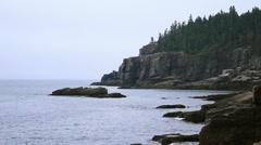North East Coast Ocean Maine _20 Stock Footage