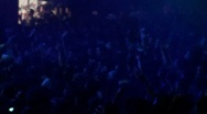 Stock Video Footage of Crowd at a rock concert