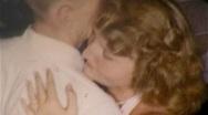 COUPLE DANCING Close Romantic Love Dance Party 1960s Vintage Film Home Movie 309 Stock Footage