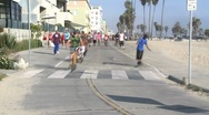 Venice Boardwalk Stock Footage