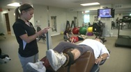 Physical Therapy Session (1) Stock Footage