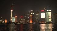 Skyline Shanghai Stock Footage