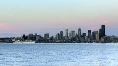 Seattle Puget Sound Stock Footage