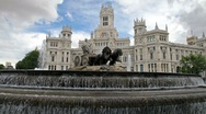 Stock Video Footage of Madrid, Spain