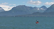Stock Video Footage of One Fine Day on Kachemak Bay