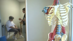 Physical Therapy Session Stock Footage