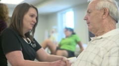 Physical Therapy Session (9) Stock Footage