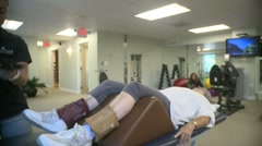 Physical Therapy Session (4) - stock footage
