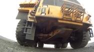 Mining dump truck 061 Stock Footage
