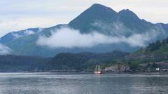 Alaska Island Scenic ED Stock Footage