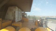 Mining dump truck 063 Stock Footage