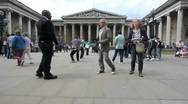 Stock Video Footage of British Museum, London