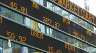 Stock Ticker Market Dow Jones S&P Nasdaq Stock Footage