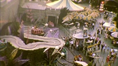 People at Disneyland Theme Amusement Park 1960 s Vintage Film Home Movie 338 Stock Footage