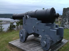 Castle Hill National Historic Site of Canada- Newfoundland - stock footage