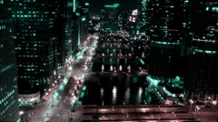Chicago - Future City - stock footage