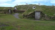 Stock Video Footage of L'Anse au Meadows National Historic Site- Newfoundland 2