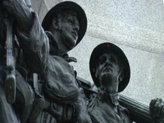 Canadian National War Memorial- Ottawa Stock Footage