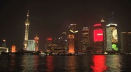 Stock Video Footage of Skyline Shanghai