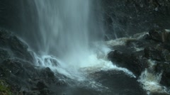 Waterfall Bottom Stock Footage