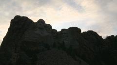 Mount Rushmore Stock Footage