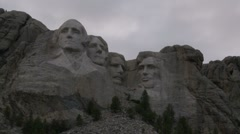 Mount Rushmore - stock footage
