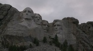 Stock Video Footage of Mount Rushmore