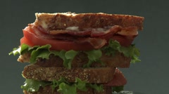 Sandwich Stock Footage