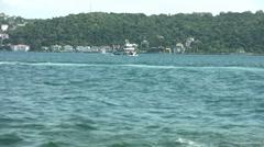 Sea Traffic Stock Footage