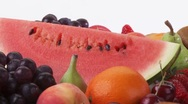Assorted fruit Stock Footage
