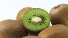 Kiwi fruit Stock Footage