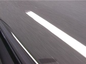 Stock Video Footage of road marking passing by