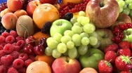 Stock Video Footage of Bowl of fruit