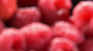 Assorted berries in a crate Stock Footage