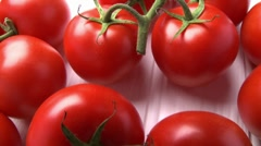 Fresh tomatoes Stock Footage