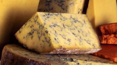 Cheese Still Life - stock footage