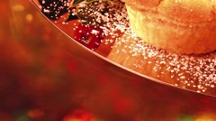 Mince pies (Christmas speciality, UK) Stock Footage